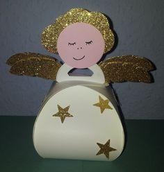 Zierschachtel, Engel, Weihnachten