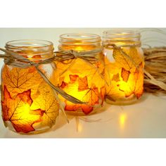 Fabulous Fall Mason Jar DIY Projects - The Cottage Market