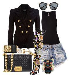 Designer Clothes, Shoes & Bags for Women Diva Fashion, Fashion 101, Curvy Fashion, Denim Fashion, Fashion Outfits, Womens Fashion, Blazer Outfits, Hot Outfits, Denim Outfits