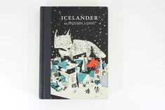 Icelander cover design by Josh Cochran. Super cute fox illustration!