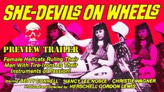 """The Man-Eaters Gang in """"She-Devils On Wheels"""" (1968)"""