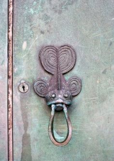 Image detail for -An Old Fish Door Knocker. Royalty Free Stock Photo, Pictures, Images ...