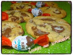 cookies aux schokobons