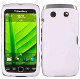 White Hard Case Cover for Blackberry Torch 9860 9850 - White Hard Case Cover for Blackberry Torch 9860 9850    Provides protection by preventing scratches and its perfect fit make the BlackBerry Torch 9850/9860/ 9570 Storm 3 looks as slim as if it ha
