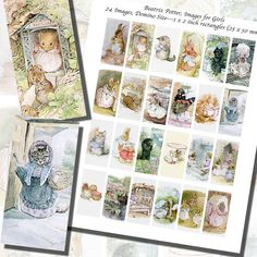Beatrix Potter's Images for Girls Printables by imagesbythebook
