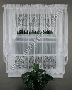 Valerie Kitchen Curtains - Natural
