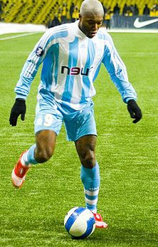 Djibril Cisse (FRANCE)  Cissé was born to Muslim Ivorian parents in France. His late father Mangué Cissé was a professional footballer and had captained his country before his parents moved to France in 1974.