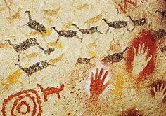 The Altamira cave paintings Paleolithic Art, Stone Age Art, Lascaux, Chauvet Cave, Art Rupestre, Cave Drawings, Art Antique, Aboriginal Art, Ancient Artifacts