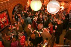 Macon Film Festival after party at The SoChi Gallery. March 1, 2014.