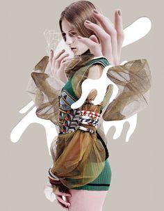 Karolina Sikorska By Nat Prakobsantisuk For Vogue Thailand May 2014