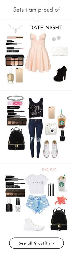 """""""Sets i am proud of"""" by crystalgems125 ❤ liked on Polyvore featuring Oh My Love, Smashbox, NARS Cosmetics, Givenchy, Beautycounter, Cartier, New Look, Deux Lux, Essie and Anne Sisteron"""