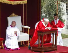 HOMILY OF POPE FRANCIS PALM SUNDAY OF THE LORD'S PASSION ST PETER'S SQUARE 13 APRIL 2014