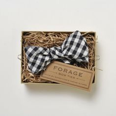 Forage Bow Ties