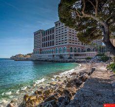 Monté-Carlo Beach