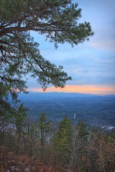 Cherohal Skyway, Cherokee National Forest, North Carolina / Tennessee