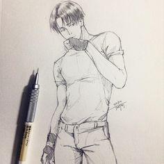 artbyshinji: Heichou! #進撃の巨人 #イラスト #illust #snk