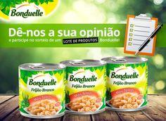 Estamos a sortear um lote de produtos Bonduelle!