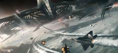 Enders Game, Concept Art by James Clyne-Giant Frog Studios