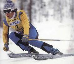 Ingmar Stenmark in action. Alpine Skiing, Snow Skiing, Ski Racing, Vintage Ski, Ski Fashion, World Of Sports, Sports Stars, Held, In Hollywood