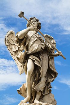 Scupture, Ponte Sant'Angelo, Rome, Italy. Bernini Angels -mt favorites