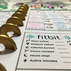 I have added the Fitbit tracker sticker As a free printable to my website misslizzy dot nl. Happy tracking! #freebie #misslizzy #fitbit #tracker #plannerstickers #mambi #healthy #planneraddict #plannercommunity #plannerlove #plannerfreebies