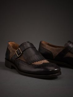 LIMITED EDITION FRINGED BLUCHERS