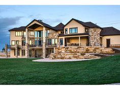 Eye-Catching Mountain Home with Optional Finished Lower Level - thumb - 03 Basement House Plans, Lake House Plans, Mountain House Plans, Luxury House Plans, Mountain Homes, Dream House Plans, House Floor Plans, My Dream Home, Walkout Basement