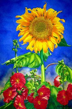 Sun Lovers MARY BACKER