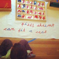 Montessori writing