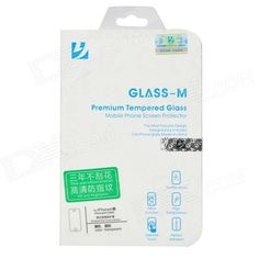 Protective Toughened Glass Front Screen Guard for Iphone 4 / Iphone 4S - Transparent