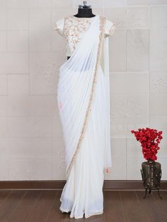 Sarees: Buy Indian Sarees Online, Latest Saree Shopping For Wedding, Engagement, Reception, Parties Trendy Sarees, Stylish Sarees, Fancy Sarees, Sarees For Girls, Party Wear Sarees Online, Wedding Saree Collection, Modern Saree, White Saree, Stylish Dresses For Girls
