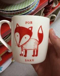 I need this mug  :-)  #fox #myt