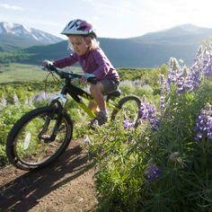 mountain biking with kids near #crestedbutte #mtbhome #mtb