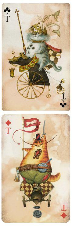 Непомнящий Дмитрий + Попугаева Ольга          http://illustrators.ru/users/id4984/portfolio