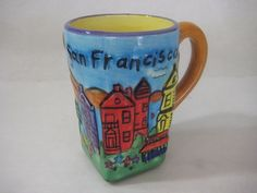 San Francisco City California Buildings Souvenir Coffee Mug