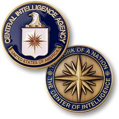 CIA Central Intelligence Agency / Center of Intelligence Challenge Coin