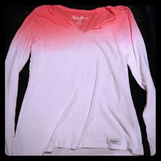 Lucky light weight ombre sweater size m Super cute perfect for summer spring. Euc Lucky Brand Sweaters V-Necks