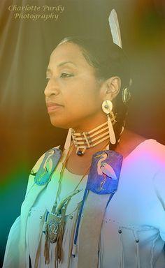 Monacan Indian Nation Powwow Modern Native American Woman by charlottepurdy, via Flickr