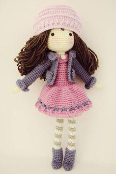 Amigurumi Pattern / Crochet Doll Pattern / Photo Tutorial /