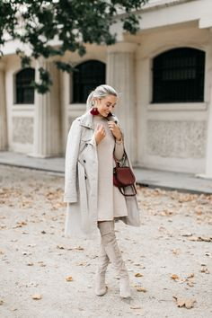 All beige for Autumn