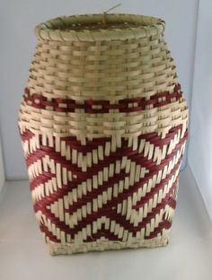 Hand Woven Cherokee Gathering Basket #woven #wicker #basket pinned by wickerparadise.com