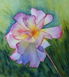 Inner Light, Watercolor