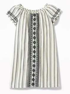 $21 Old Navy -Embroidered Shift Dress for Girls