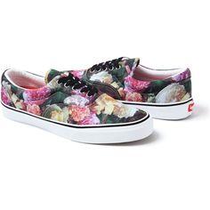 floral vans x supreme. please? $116.