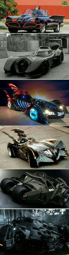 The Batmobiles lost there wheels and the Joker got away.