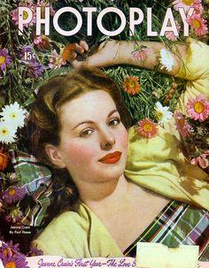 Jeanne Crain - April 1947 Photoplay magazine