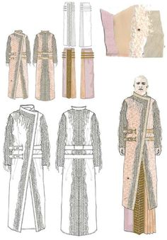 Fashion Sketchbook - coat designs; fashion illustrations; fashion portfolio // Emily Marsh