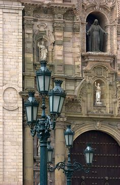 Lima, Peru (it's a beautiful city but dangerous if you don't know where to go. just stay in Miraflores, that's a beautiful part of town with magnificent colonial homes. well, they used to be magnificent before the Shining Path)