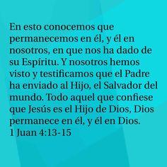 1 Juan 4.13