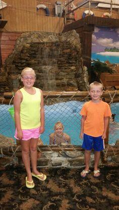 Lexie, the mermaid and cameron lol July 2015 Myrtle Beach sc